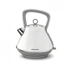 Morphy Richards Evoke Pyramid Kettle - White Kettles
