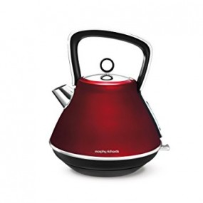Morphy Richards Evoke Pyramid Kettle - Red