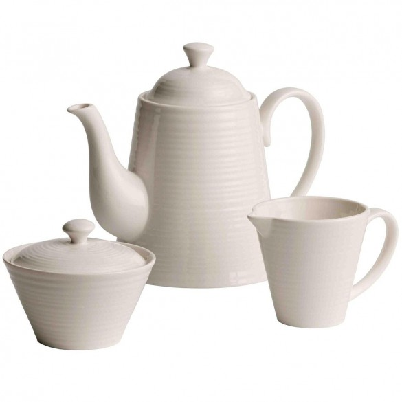 Belleek Ripple Beverage Set Kitchenware