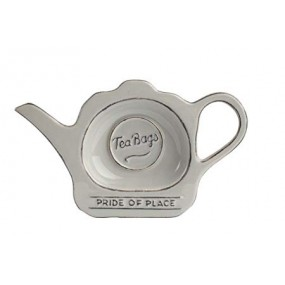 T&G Pride of Place Grey Tea Bag Tidy Kitchenware