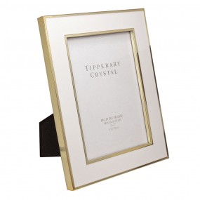 "Whiteframe W/gold Edging 5"" X 7"" Giftware"