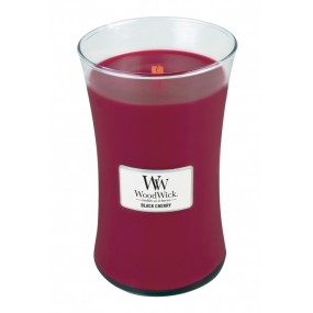 Woodwick Black Cherry - Large Candles