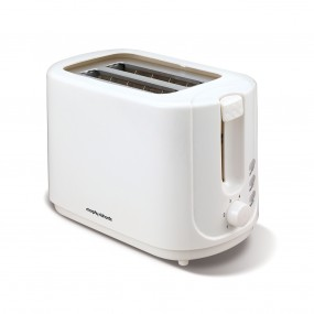 2 Slice Toaster White Electrical