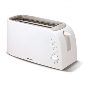 Morphy Richards Essentials 4 Slice Toaster - White Electrical