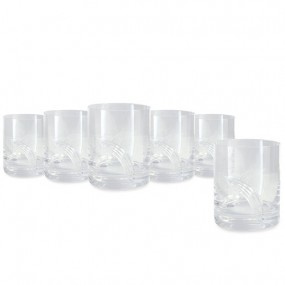 Pearl S/6 Tumbler Hat Box (Wedding List Only)
