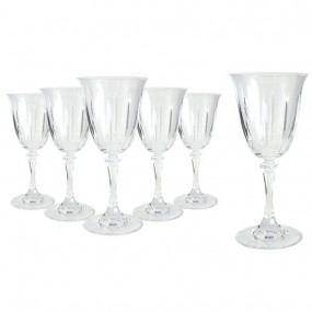Tipperary Crystal Tranquility Wine Glass Hat Box (Set of 6)