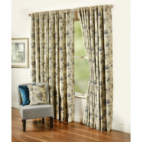 Ardlea 105x90 Blue Curtains