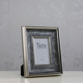 Harper Photo Frame Antique Grey 4 x 6