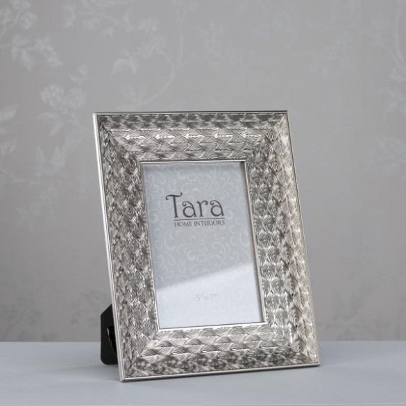 Lavelle Photo Frame Silver 5 x 7