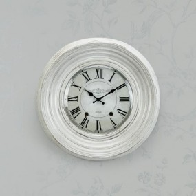 Dublin Clockworks Ridge Clock 46cm (White)