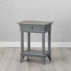 Hampton 1 Drawer Nightstand