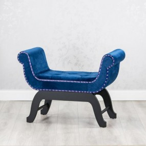 Royal Blue Love Seat