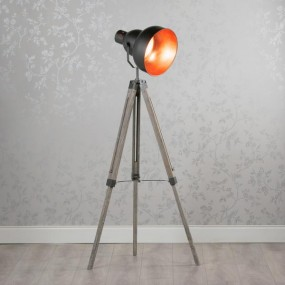 Tripod Movie Floor Lamp Round 145cm