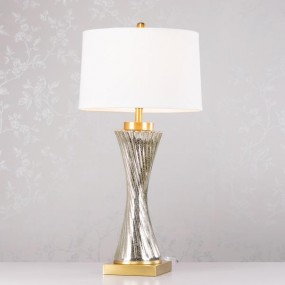 Skye Table Lamp Brass 82cm