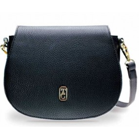 Tipperary Crystal Kensington Saddle Bag Black Bags / Purses