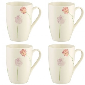 Belleek Bloom Set of 4 Mugs Mugs & Cups