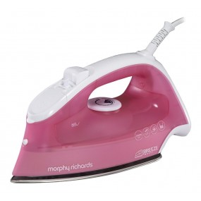 Morphy Richards Breeze Steam Iron - Pink Irons
