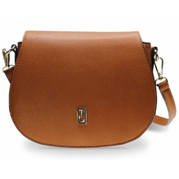 Tipperary Crystal Saddle Bag Tan