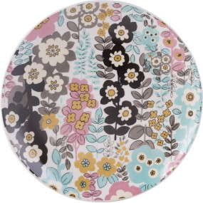 Katie Alice Pretty Retro Busy Floral Side Plate