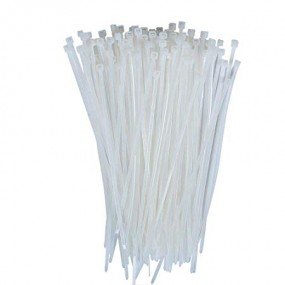 Powermaster Nylon Cable Ties 160 x 4.6mm Natural Cable Ties