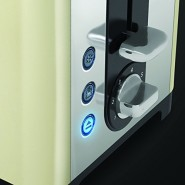 Canterbuary 2 Slice Toaster Cream Electrical