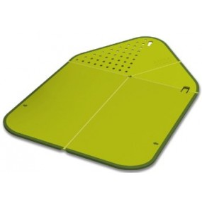 Chopping Board with Colander Utensils