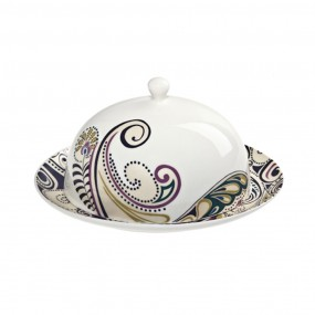 Denby Monsoon Cosmic Butter Dish