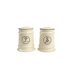 Pride of Place Salt & Pepper Set - Old Cream Tableware
