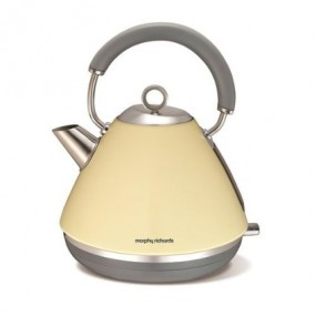 Morphy Richards Accents Pyramid Kettle - Cream