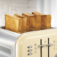 Morphy Richards Retro Accents Toaster - Cream Toasters
