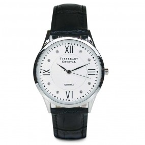 Duration Watch Black Croc Leather Giftware