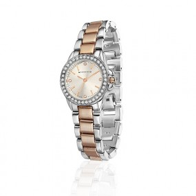 Rose Gold Watch Round Jewellery / Watches