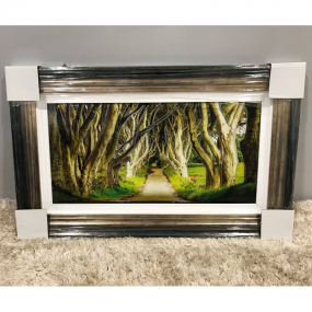 Day Dark Hedges Print Frame - 78 x 48cm