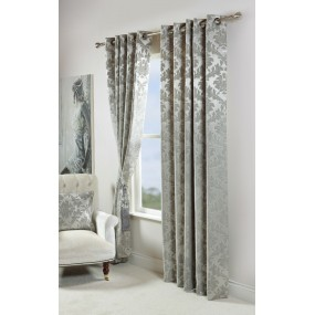 Darwin 909x90 Silver Curtains