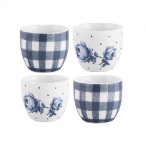 Katie Alice Vintage Indigo Of 4 Egg Cups Kitchenware