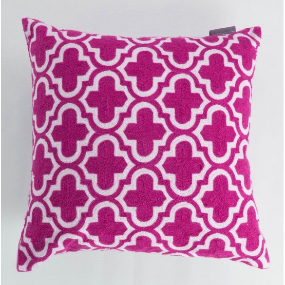 Pink Trellis Cushion