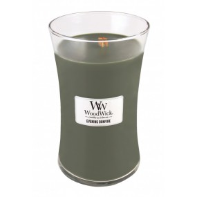 Woodwick Evening Bonfire - Large Jar Candles