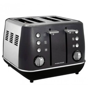 Morphy Richards Evoke 4 Slice Black toaster Toasters