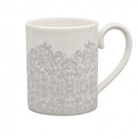 Monsoon Filigree Silver Can Mug Giftware