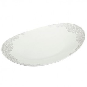 Monsoon Filigree Silver Large Oval Platter Kitchenware
