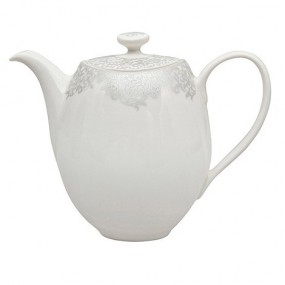 Denby Monsoon Filigree Teapot