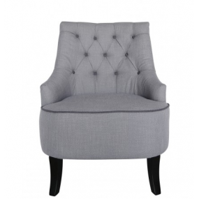 Flynn Occasioanal Chair Grey Furniture