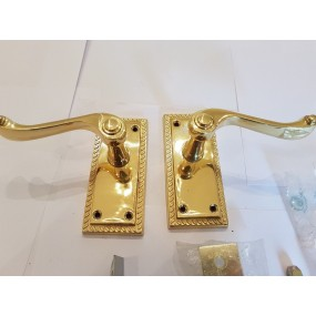Carlisle Brass Georgian Lever Latch 110x50mm Door Furniture
