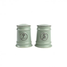 Pride of Place Salt & Pepper Set - Old Green Tableware