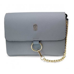 Tipperary Crystal Verona Grey Shoulder Bag with Chain