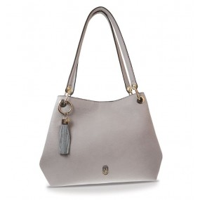 Tipperary Crystal Tote Bag - Sicily Grey Giftware