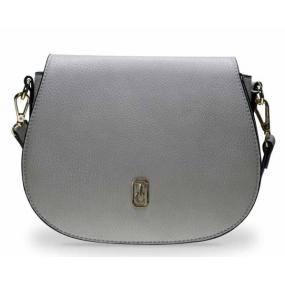 Tipperary Crystal Kensington Saddle Bag Grey Giftware