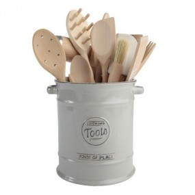 T&G Pride of Place Cool Grey Tools Jar Kitchenware