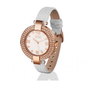 Guiness Ladies Watch White Strap Giftware