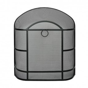 De Vielle Heavy Duty Dome Spark Guard Black
